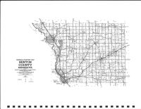 Benton County Highway Map, Benton County 1983